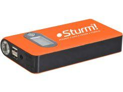 Пуско-зарядное устройство 12000 мА*ч + Power Bank + Led фонарь Sturm BC1212