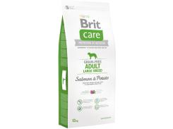 Сухой корм для собак весом от 25 кг Brit Care Gf Adult Large Breed Salmon & Potato 12 кг (8595602510184)