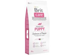 Сухой корм для щенков и молодых собак Brit Care Gf Puppy Salmon & Potato с лососем 12 кг (8595602510047)