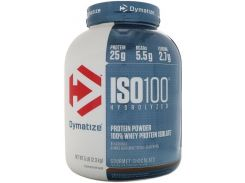 Dymatize ISO-100 2275 g /71 servings/ Gourmet Chocolate