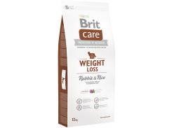 Сухой корм для собак с лишним весом Brit Care Weight Loss Rabbit & Rice с кроликом 12 кг (8595602510313)