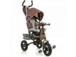 Трёхколёсный велосипед X-Rider Gt Trike с надувными колесами Коричневый