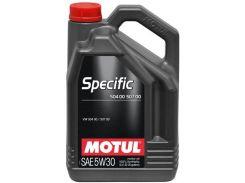 Моторное масло Motul Specific 504.00-507.00 5W-30 838751 5л