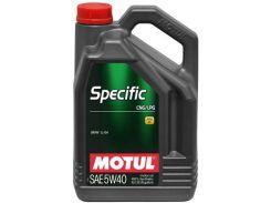Моторное масло Motul Specific CNG/LPG 5W-40 854051 5л