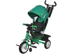 Велосипед трехколесный на надувных колесах Mars Mini Trike Зелено-черный (950D)