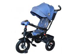 Велосипед трехколесный Mini Trike Синий джинс (T400-17)