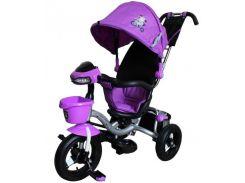 Велосипед трехколесный на надувных колесах Mars Mini Trike фиолетовый (LT960-2)
