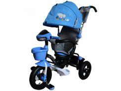 Велосипед трехколесный на надувных колесах Mars Mini Trike Синий (LT960-2)