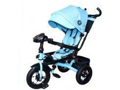 Велосипед трехколесный Mini Trike Голубой джинс (T400-17)