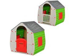 Игровой домик Starplast Серо-зеленый (10-561)