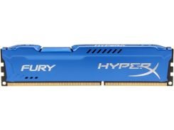 Kingston 8 Gb DDR3 1600 MHz HyperX Fury (HX316C10F/8)