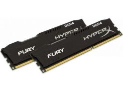 Kingston 16 Gb (2x8GB) DDR4 2666 MHz HyperX Fury Black (HX426C16FB2K2/16)