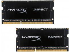 Kingston DDR3 16Gb (2x8Gb) 1866MHz HyperX Impact Black SO-DIMM (HX318LS11IBK2/16)