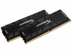 Kingston DDR4 16Gb (2x8Gb) 3200MHz Savage Black (HX432C16PB3K2/16)