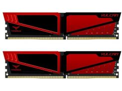 Team 16 Gb (2x8GB) DDR4 3000 MHz T-Force Vulcan Red (TLRED416G3000HC16CDC01)