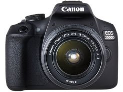 Canon Eos 2000D Kit (18-55mm) Is Ii