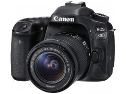 Canon Eos 80D kit (18-55mm) Is Stm