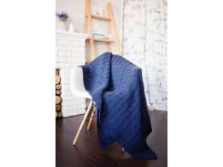 SoundSleep Doros 140х180см вязанный, темно-синий (91913231)