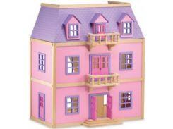 Melissa&Doug Многоэтажный деревянный домик (MD4570)