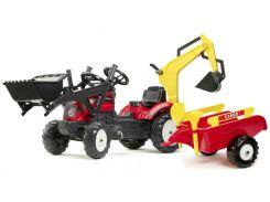 Детский трактор Falk Ranch на педалях Красный (2051CN)