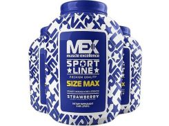 Mex Size Max 6800 g /60 servings/ Strawberry