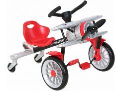 Детский велокарт Rollplay PLANEDO, silver (46554)