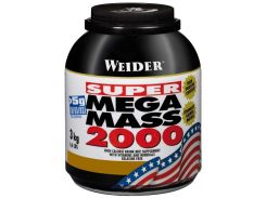 Weider Mega Mass 2000 3000 g /21 servings/ Strawberry