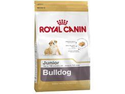 Корм для щенков Royal Canin Bulldog Junior, породы английский бульдог, 12 кг