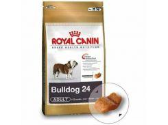 Корм для собак Royal Canin Bulldog 24, породы английский бульдог, 12 кг