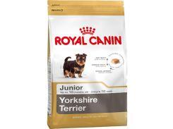 Корм для щенков Royal Cani Yorkshire Terrier Junior, породы йоркширский терьер, 7.5 кг
