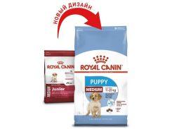 Корм для щенков Royal Canin Medium Puppy средних размеров, 15 кг