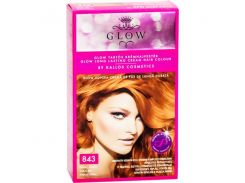 Крем-краска для волос Kallos Glow 843 ( красный коралл )