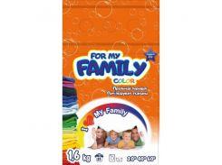 For my Family Порошок 1,6 кг  для цветного  (пакет)