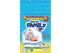 For my Family Baby Порошок для стирки детских вещей 2 кг (22 стирки)