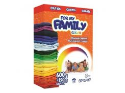 For my Family Порошок 600+150 г Color (картон)