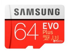 microSDXC 64GB EVO Plus UHS-I Class 10 (MB-MC64GA/RU)