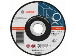Отрезной круг по металлу Bosch 125 x 1.6 мм