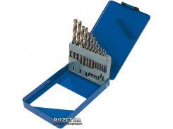 Набор сверл по металлу Miol Р6М5 13 шт 1.5-6.5 мм (22-085)