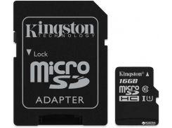 microSDHC 16GB Canvas Select Class 10 UHS-I U1 + SD-адаптер (SDCS/16GB)