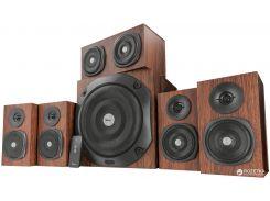 Акустическая система Trust Vigor 5.1 Surround Speaker System for pc Brown