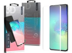 Защитная пленка Zifriend 3D Full Cover Curved Edge для Samsung Galaxy S10 SM-G973 Crystal Clear