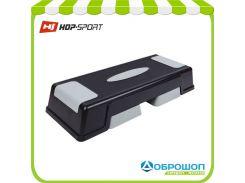 Степ - платформа для фитнеса и аэробики «HOP-SPORT» 3-х уровневая