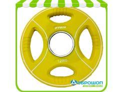 Цветной полиуретановый диск Stein TPU Color Plate 1,25kg