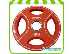 Цветной полиуретановый диск Stein TPU Color Plate 5 кг