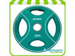 Цветной полиуретановый диск Stein TPU Color Plate 10 кг