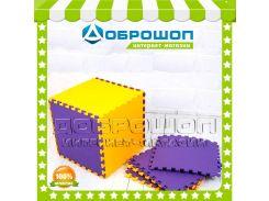 Коврик - пазл детский, напольное покрытие (4 элемента)
