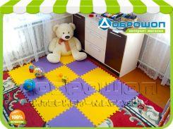 Коврик для детской комнаты модульный 1920х1440 мм