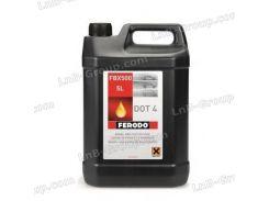 Тормозная жидкость 5л (DOT 4) FerodoFerodo