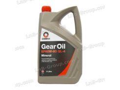 Масло трансмиссионное Comma Gear oil EP 80W-90 GL4 5лComma