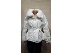 Куртка женская белая XXL